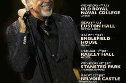 The Mighty Voice of Tom Jones is back on Tour